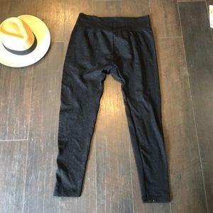 Pants - Black Sparkly Leggings